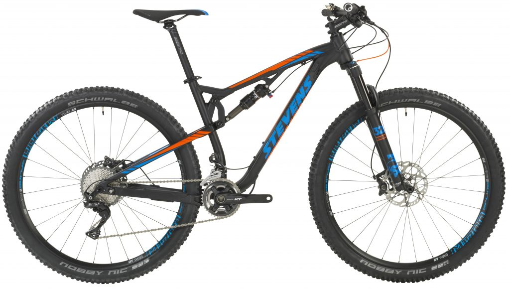Stevens Fully Jura ES 29' 17 18' anodized black